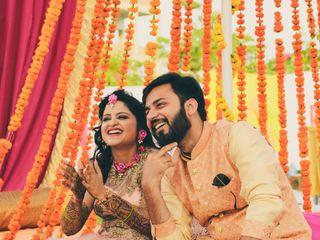 The wedding of Bhawna and Rahul 1
