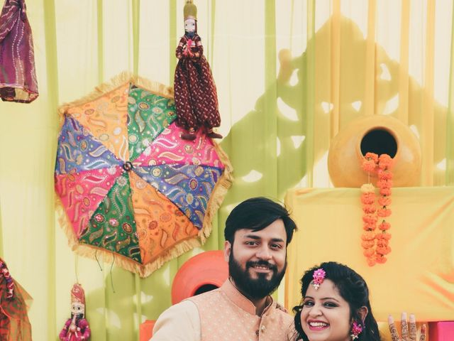The wedding of Bhawna and Rahul