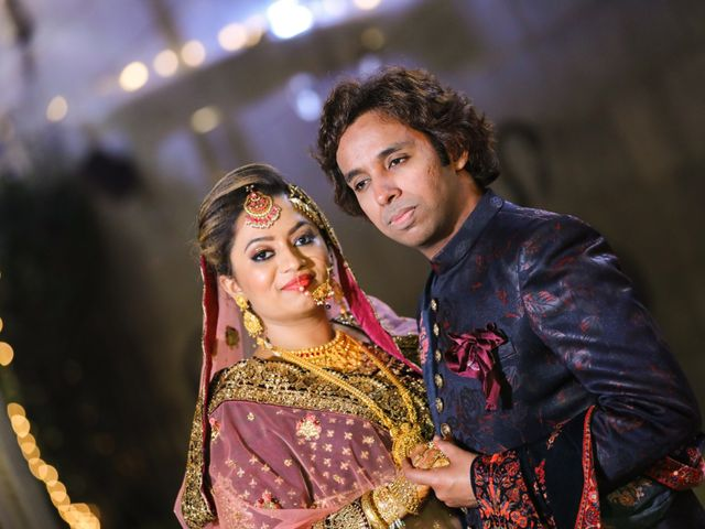 The wedding of Salman and Halima