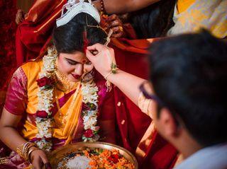The wedding of Shreya and Arnab