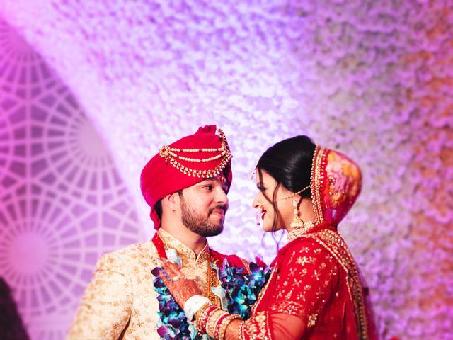 The wedding of Shweta and Bharat
