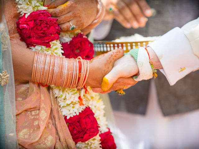The wedding of Richa and Andrew