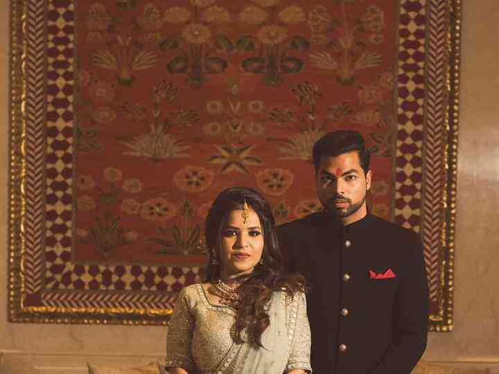 The wedding of Mohit and Janvi