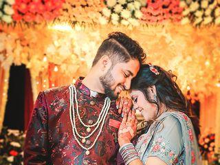 The wedding of Roli and Aditya