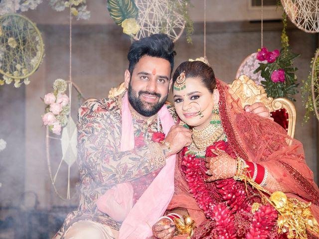 The wedding of Priyanka and Anish