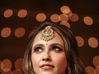 The wedding of Anjum and Harini 2