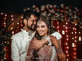 The wedding of Anjum and Harini