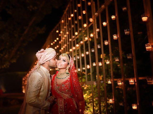 The wedding of Namisha and Sagar