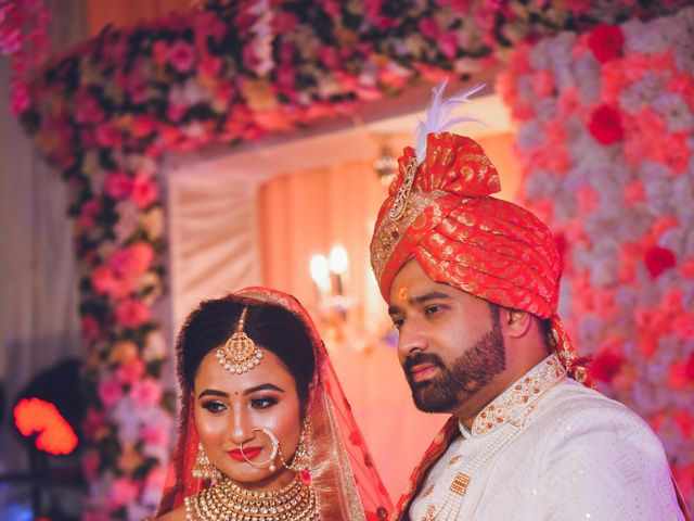 The wedding of Neha and Harsh