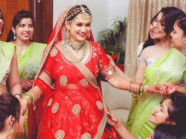 The wedding of Shivangi and Abhijat