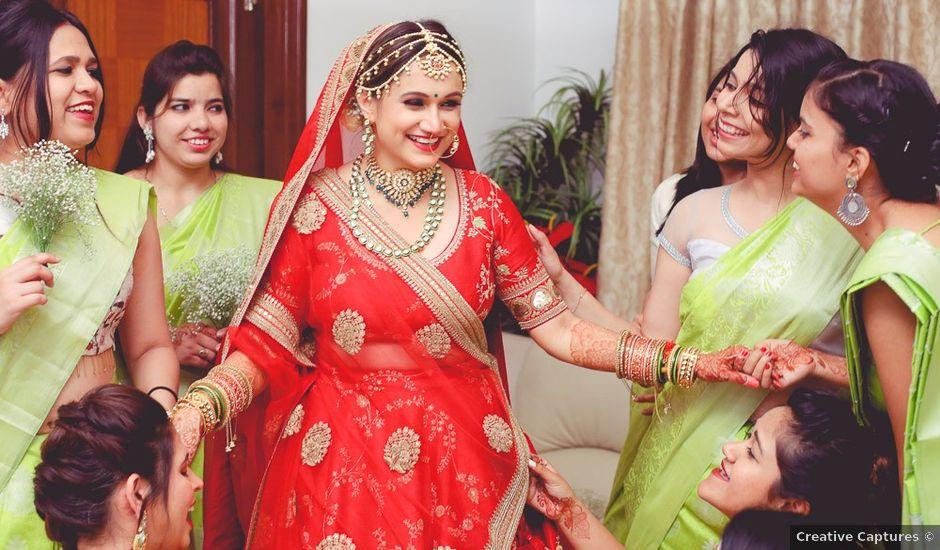 Shivangi and Abhijat's wedding in Hyderabad, Andhra Pradesh