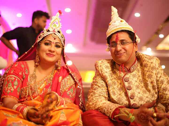 The wedding of pratik and akanksha