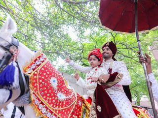 The wedding of KARAN and ANU 1