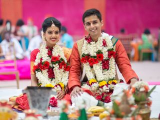 The wedding of Shruti and Tejas