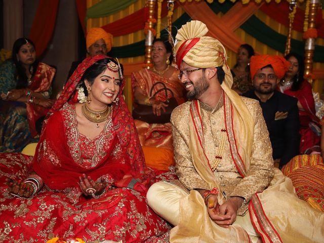 The wedding of Akansha and Aditya