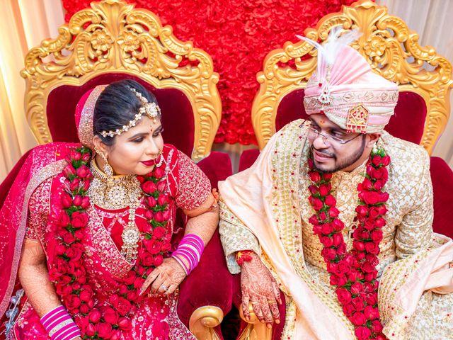 The wedding of Aastha and Prakash