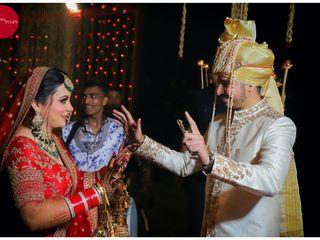 The wedding of Vani and Akash