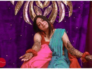 The wedding of Vani and Akash 2