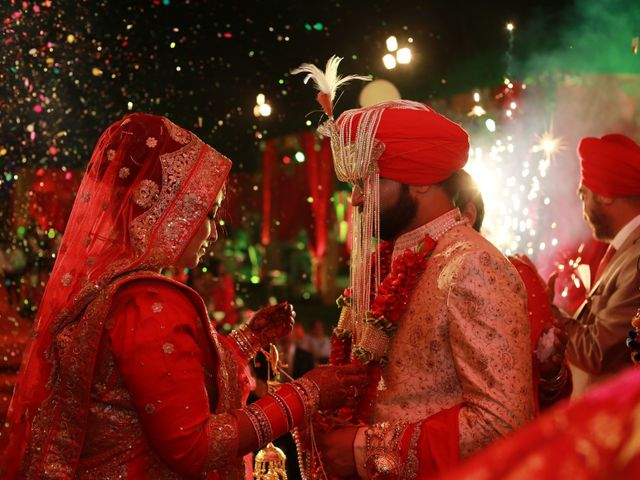 The wedding of Amrita and Divyajot