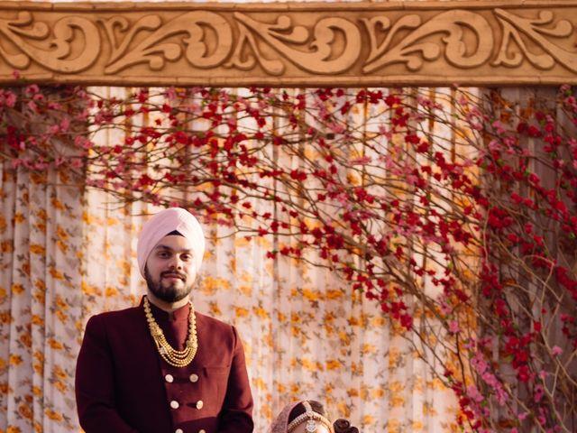 The wedding of Diksha and Manmeet