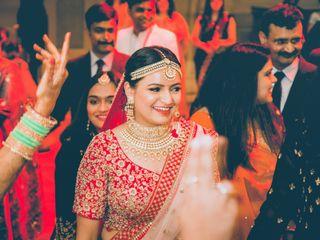 The wedding of Saumya and Deepak 1