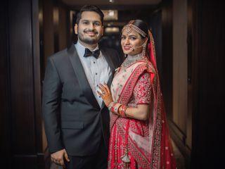 The wedding of Saumya and Deepak