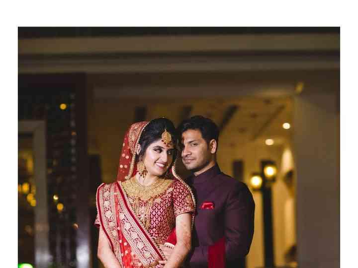 The wedding of Priya and Abhishek