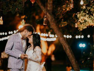 The wedding of Sabhita and Ronald