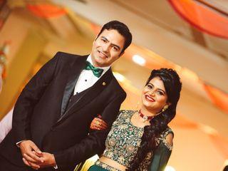 The wedding of Tanushree and Abhineet
