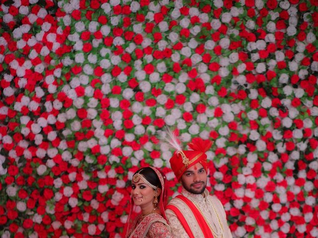 The wedding of Akanksha and Kaveesh