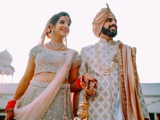 The wedding of Mitali and Varun