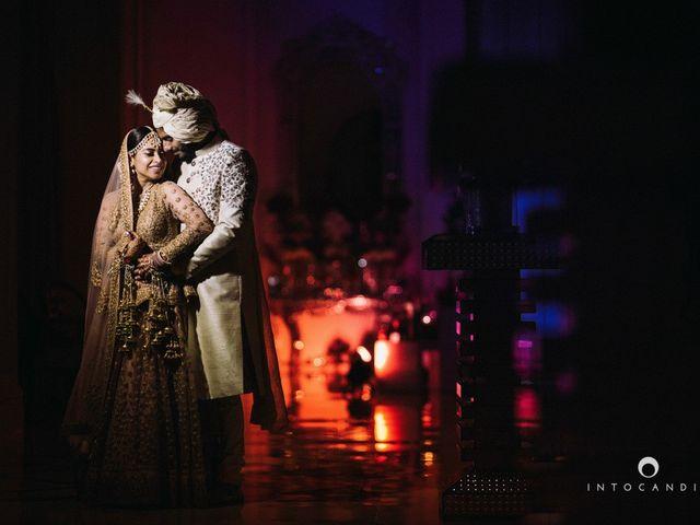 The wedding of Aarti and Rishabh