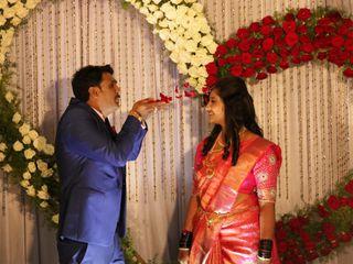 The wedding of Shubha and Appu