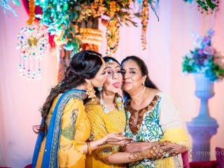 The wedding of Divya Chawla and Amrinder Bali 1