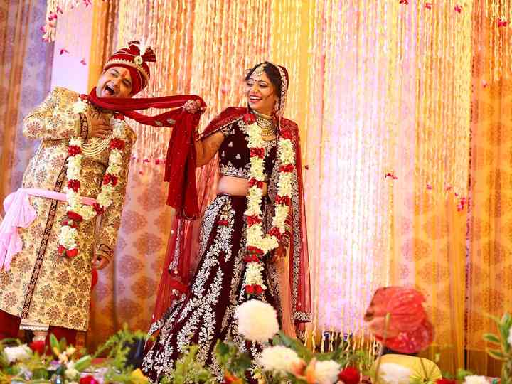 The wedding of Sakshi and Mohit
