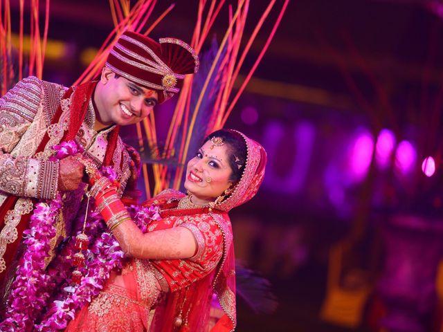 The wedding of Avanish and Priya