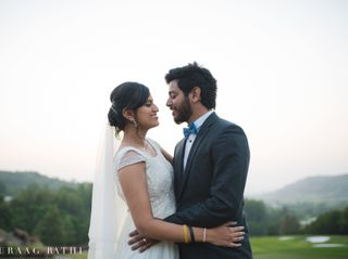 The wedding of Prashansa and Daniell