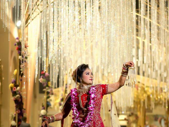 The wedding of Divya and Abhishek