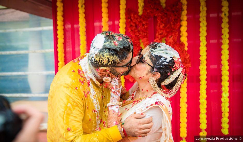 The wedding of ROHIT and EKTA