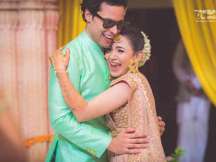 The wedding of Shweta and Arjun