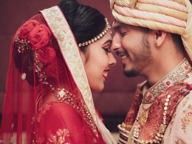 The wedding of Rajvi and Himit
