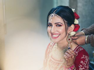 The wedding of Saloni and Kaushik 1
