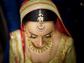 The wedding of Prathna and Bawa
