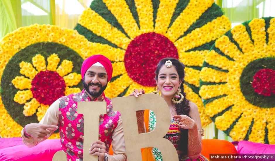 Japji and Birti's wedding in West Delhi, Delhi NCR