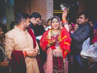 The wedding of Vaishnavi and Angad 1