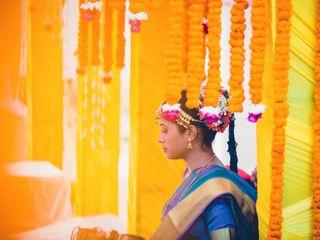 The wedding of Vaishnavi and Angad 3