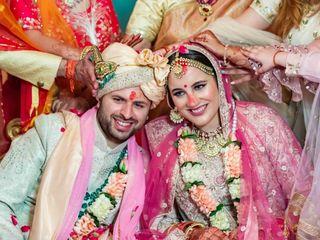 The wedding of Taylor  and Tushar