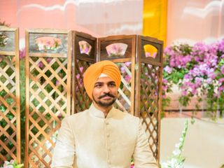 The wedding of Chitvan and Inder 2