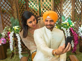 The wedding of Chitvan and Inder 3