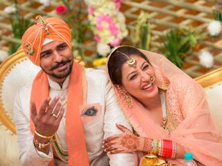 The wedding of Chitvan and Inder